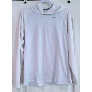 Nike dri fit hooded top